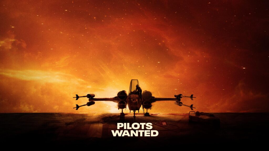 Uno dei poster del gioco Star Wars Squadrons