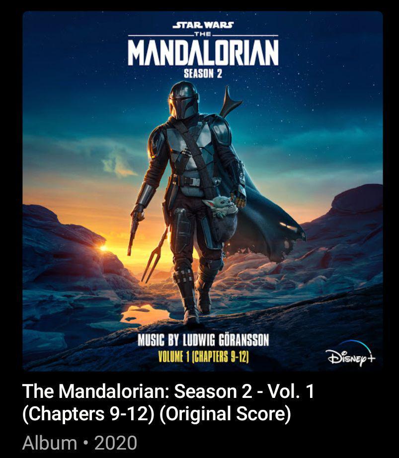soundtrack the mandalorian