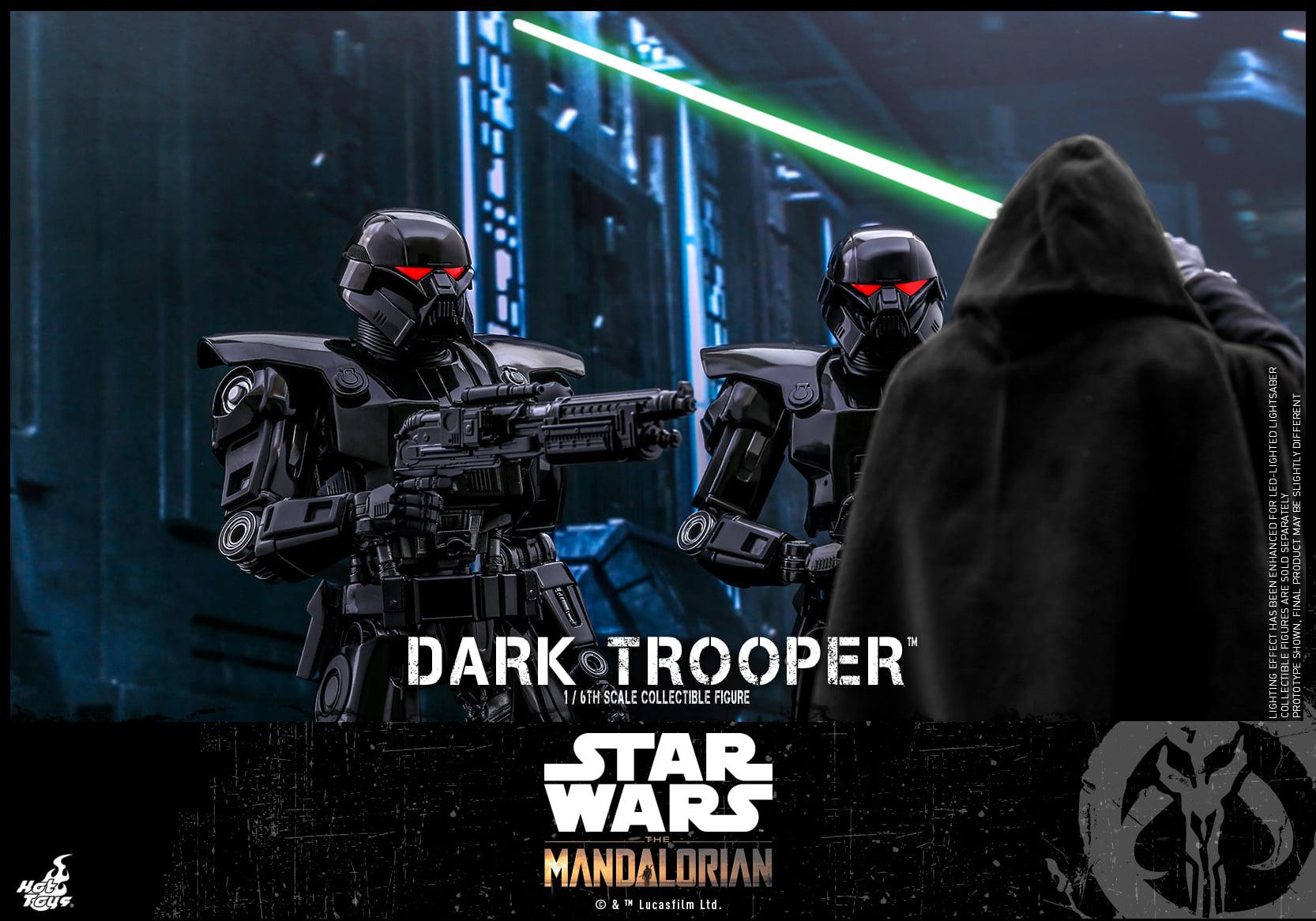 dark troopers hot toys