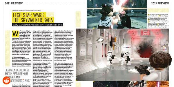 Lego Star Wars The Skywalker Saga articolo