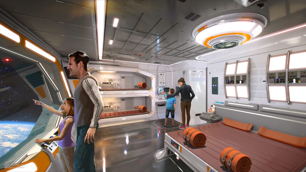 galactic starcruiser hotel