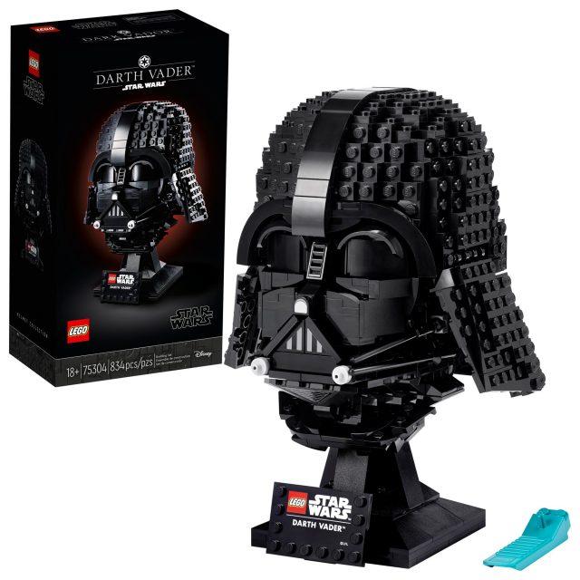 LEGO Star Wars Vader helmet