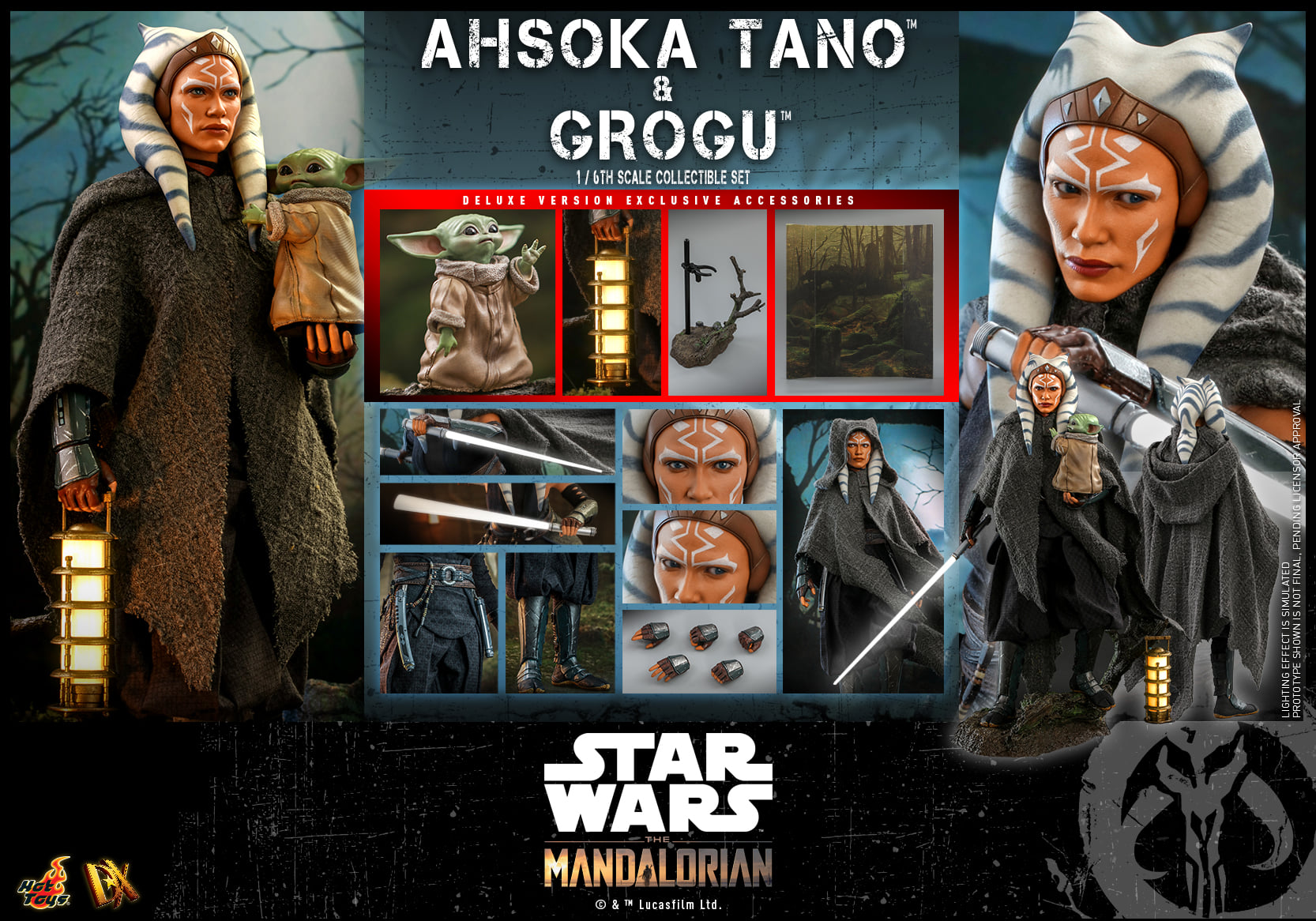 Hot Toys Ahsoka & Grogu