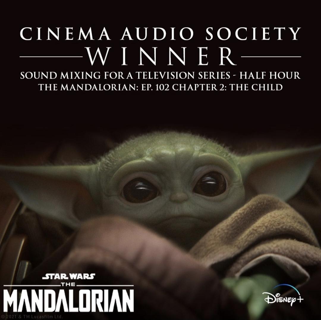 The Mandalorian Cinema Audio Society Award