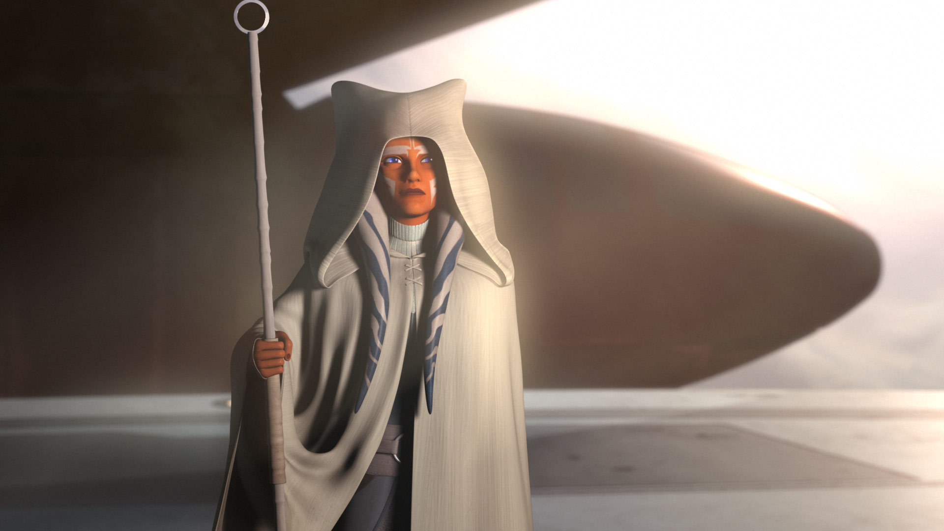 Ahsoka Tano nel finale di Star Wars Rebels