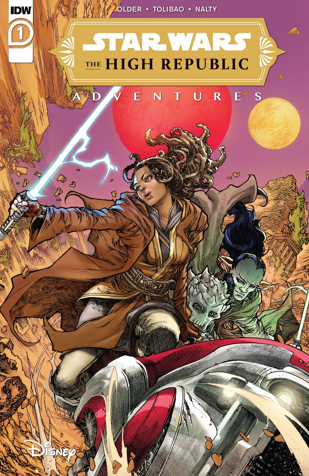 L'Alta Repubblica Avventure #1 copertina