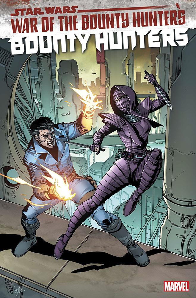 Bounty Hunters #14 cover