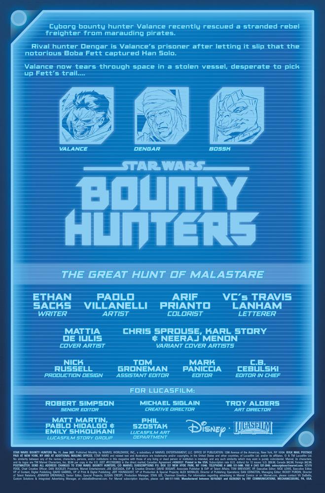 Star Wars Bounty Hunters introduzione