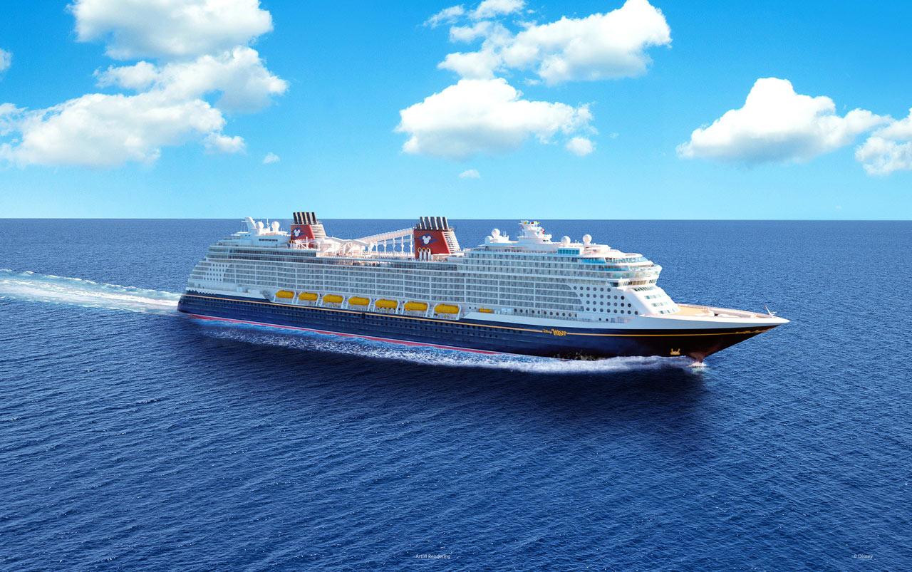 Disney Wish nave da crociera concept