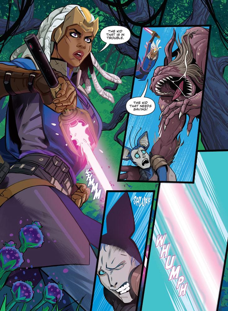 Star Wars The High Republic graphic novel