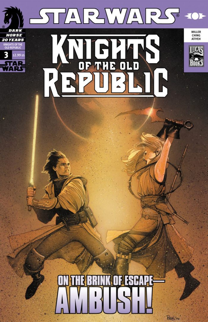 Star Wars Epic Knights of the Old Republic copertina