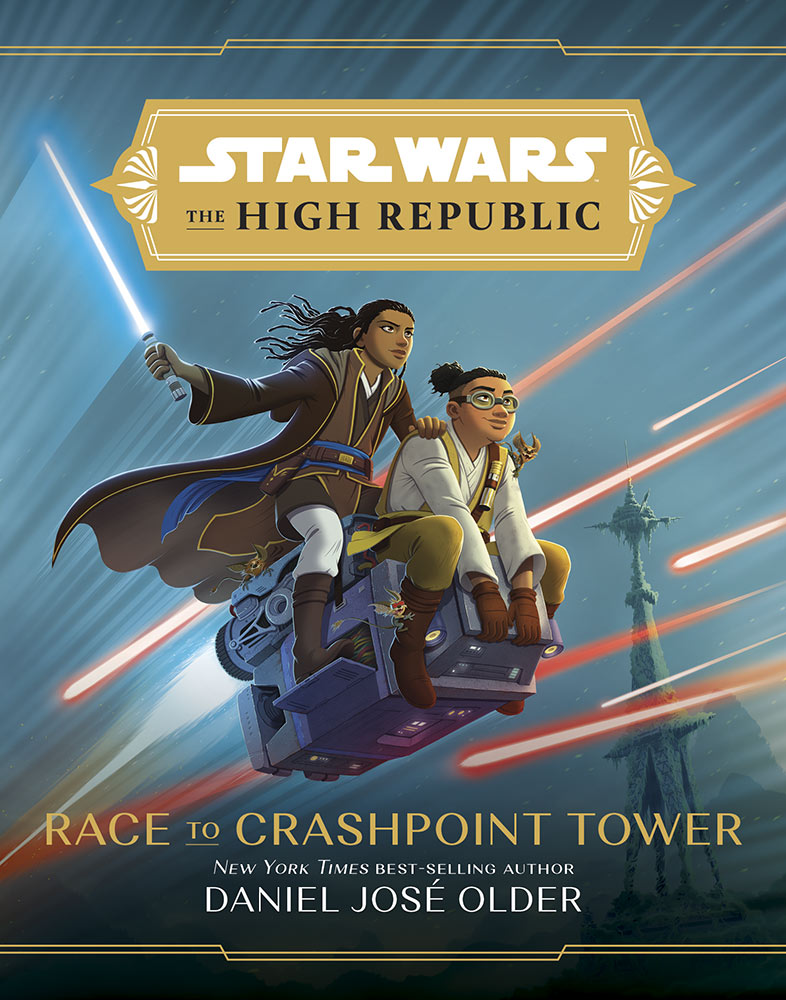 The High Republic Race to Crashpoint Tower cover