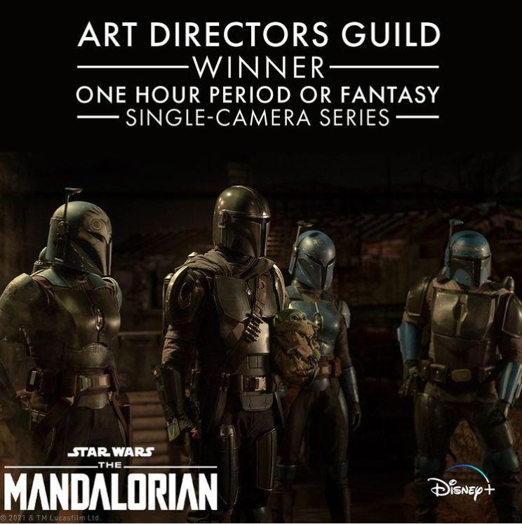 The Mandalorian Art Directors Guild Award
