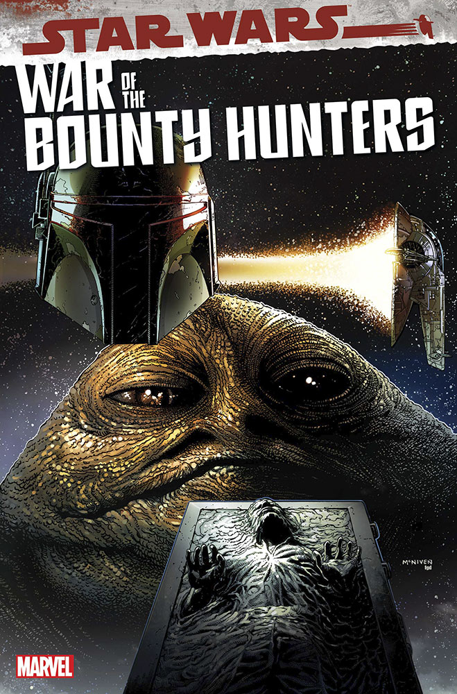 War of the Bounty Hunters #2 cover