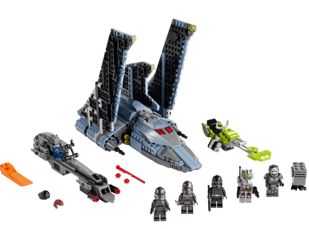 The Bad Batch set LEGO