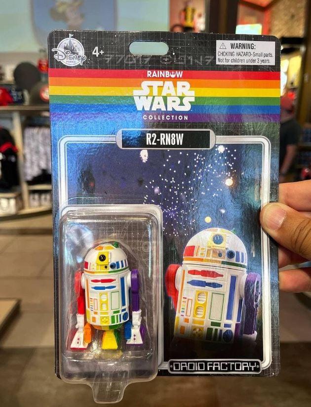 Star Wars Pride Month action figure R2-D2