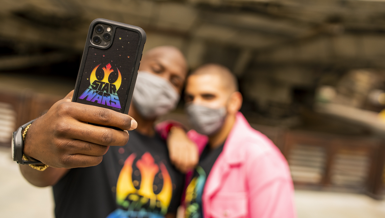Star Wars Pride Month cover smartphone
