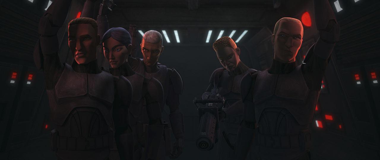 The Bad Batch Elite Squad e Crosshair
