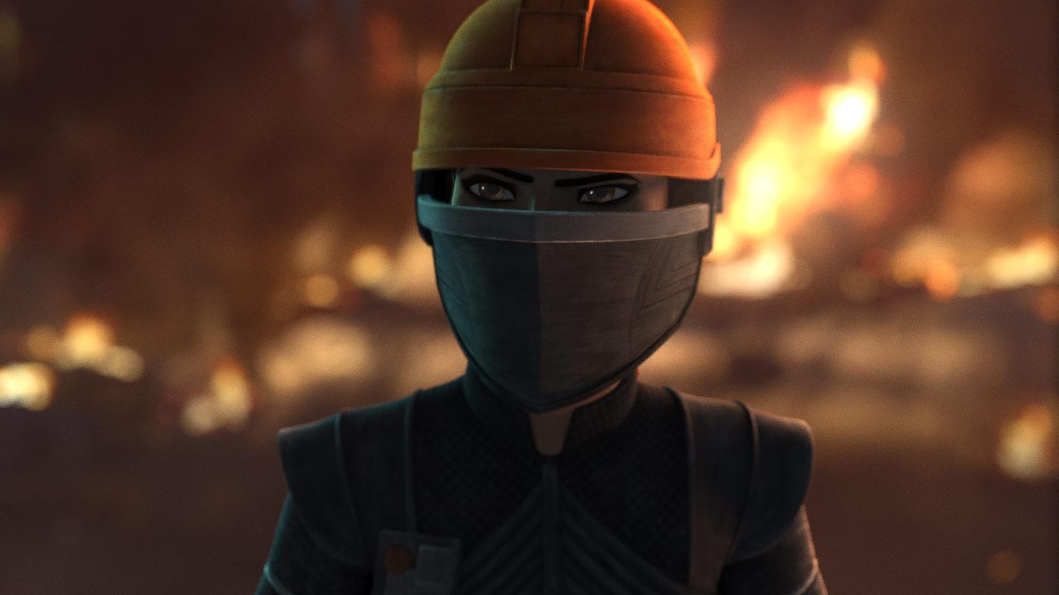 The Bad Batch Fennec Shand esplosione