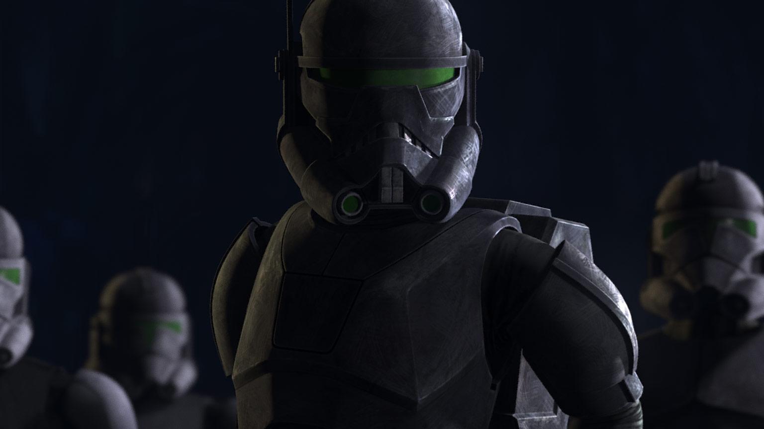 The Bad Batch Crosshair leader della Elite Squad