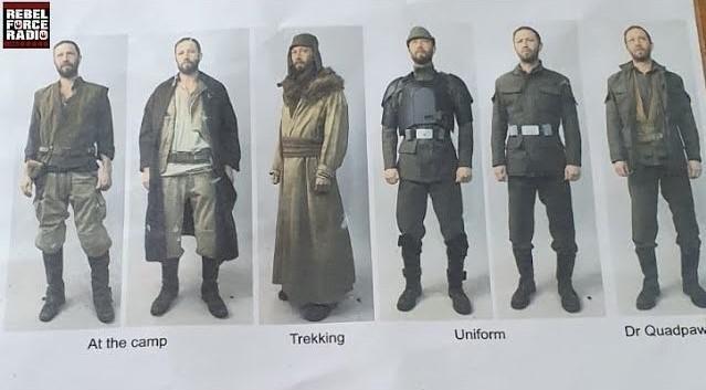 Vestiario prossime serie Star Wars