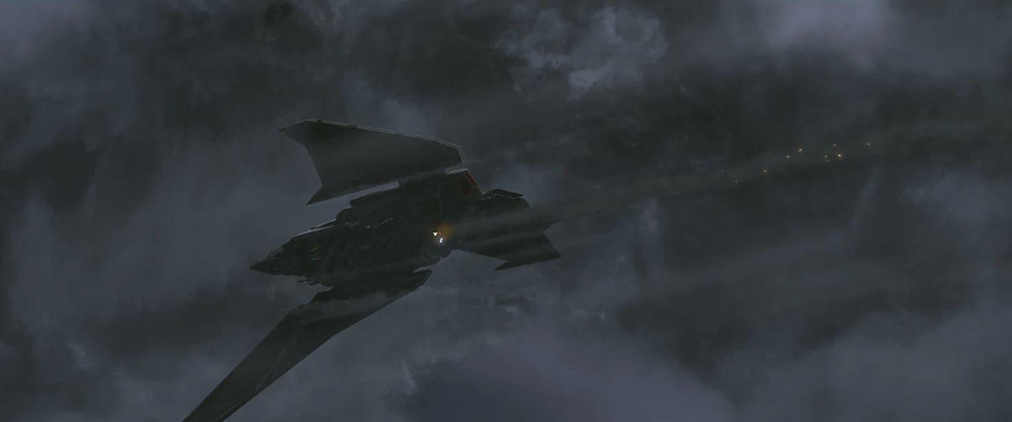 The Bad Batch atterraggio d'emergenza