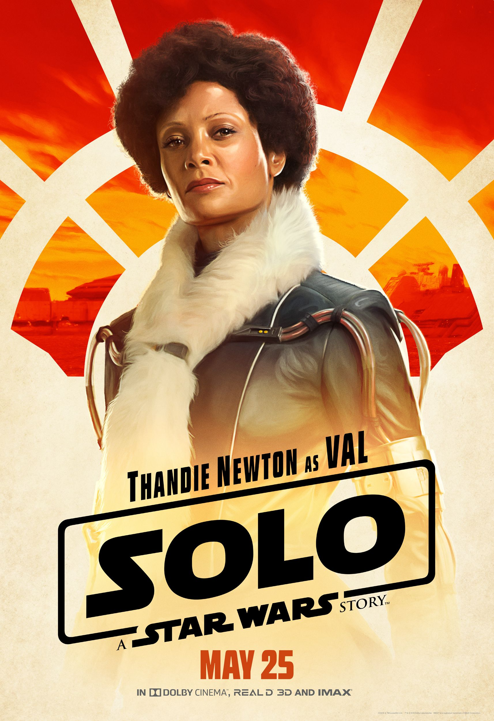 Solo A STar WArs Story Val poster