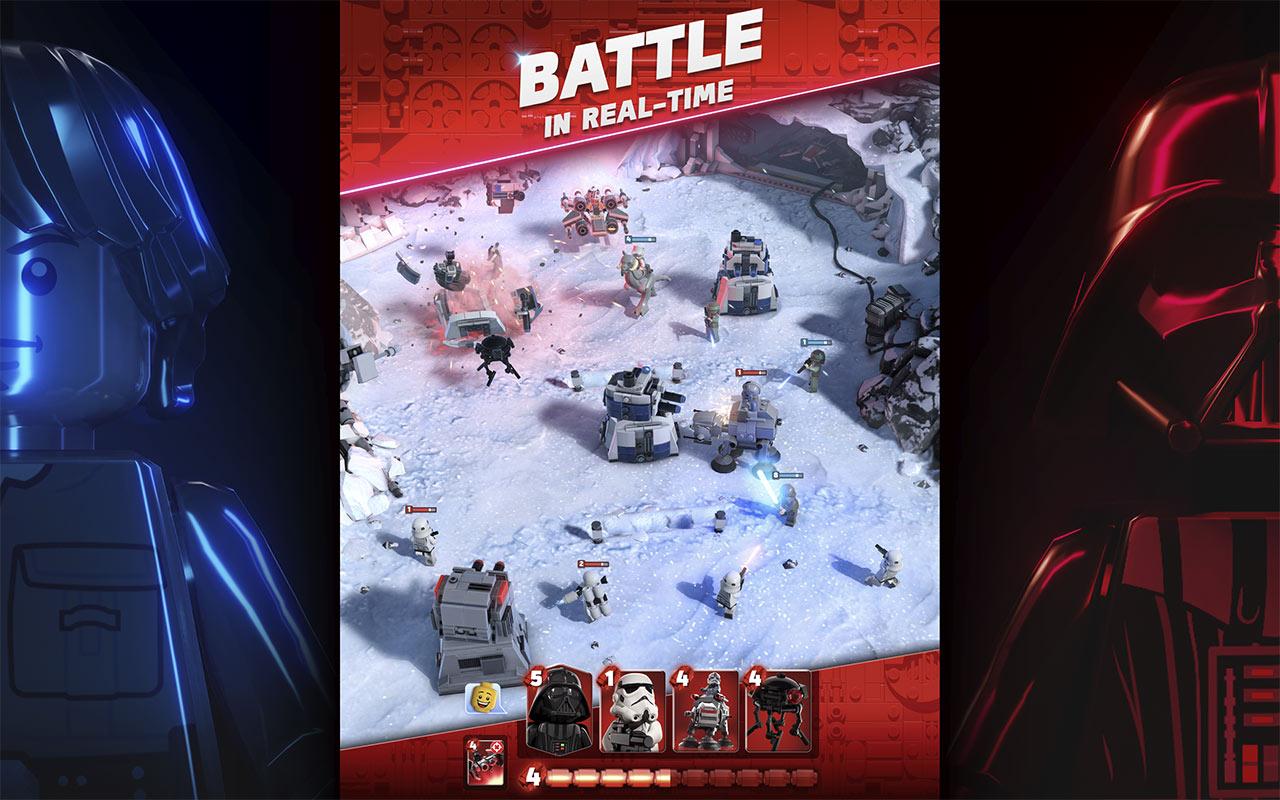 LEGO Star Wars battaglia su Hoth