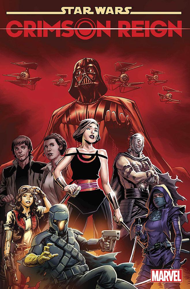 Crimson Reign copertina 3