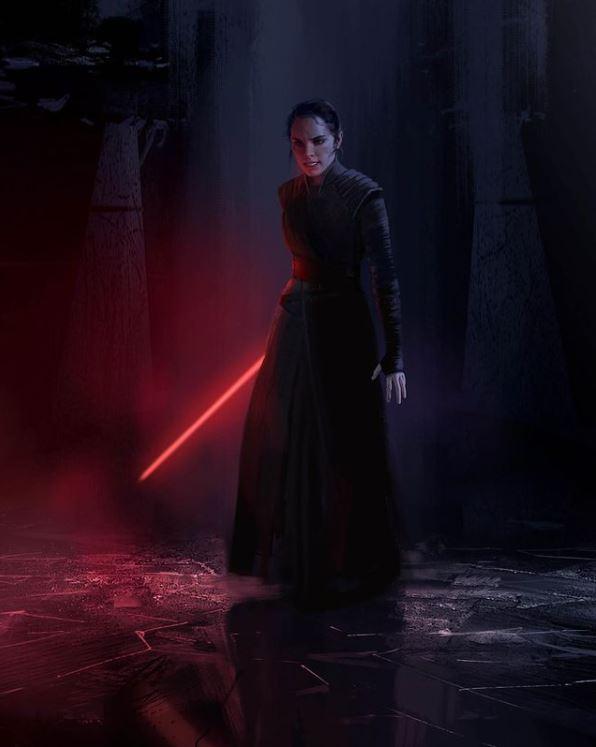 Episodio IX Dark Rey vestito nero