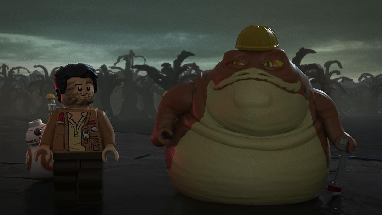 LEGO Star Wars Poe Dameron e Graballa the Hutt