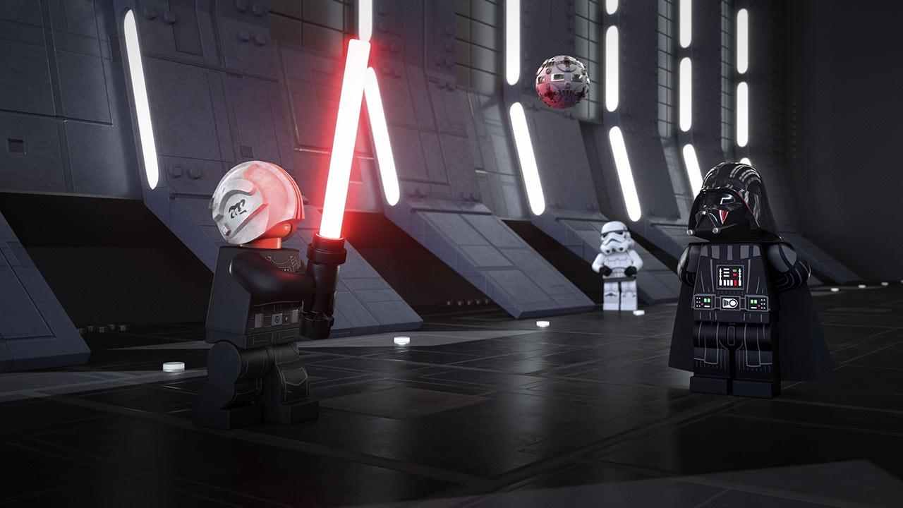 LEGO Star Wars addestramento di Luke