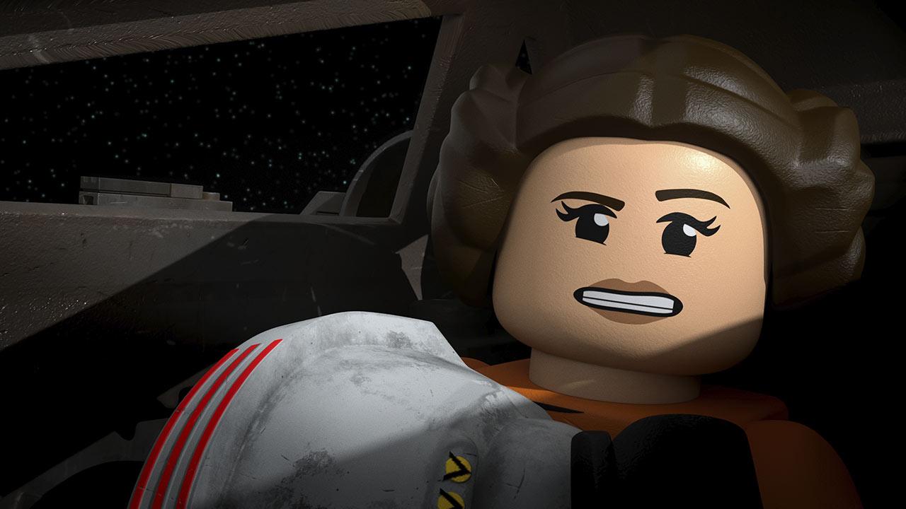 LEGO Star Wars Leia pilota