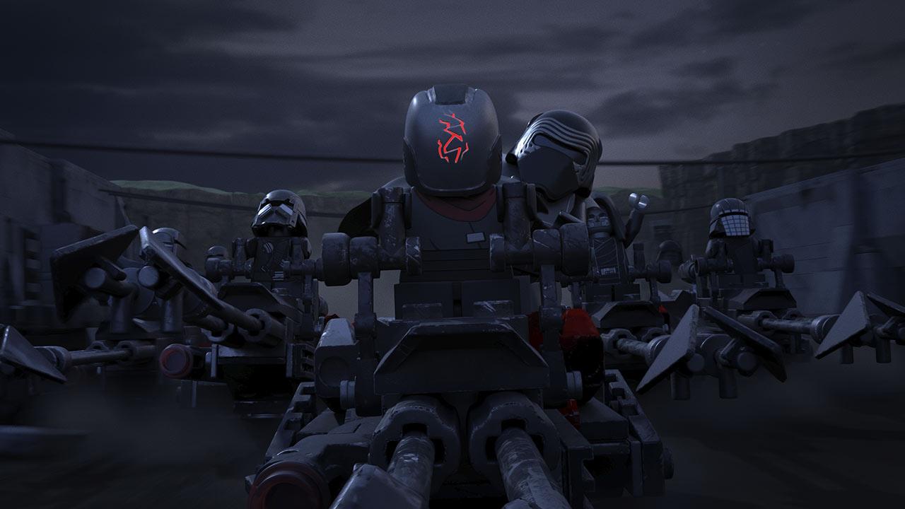 LEGO Star Wars Ren e Ben Solo