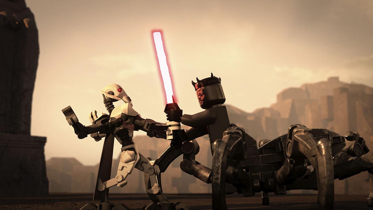 LEGO Star Wars Grievous vs Maul