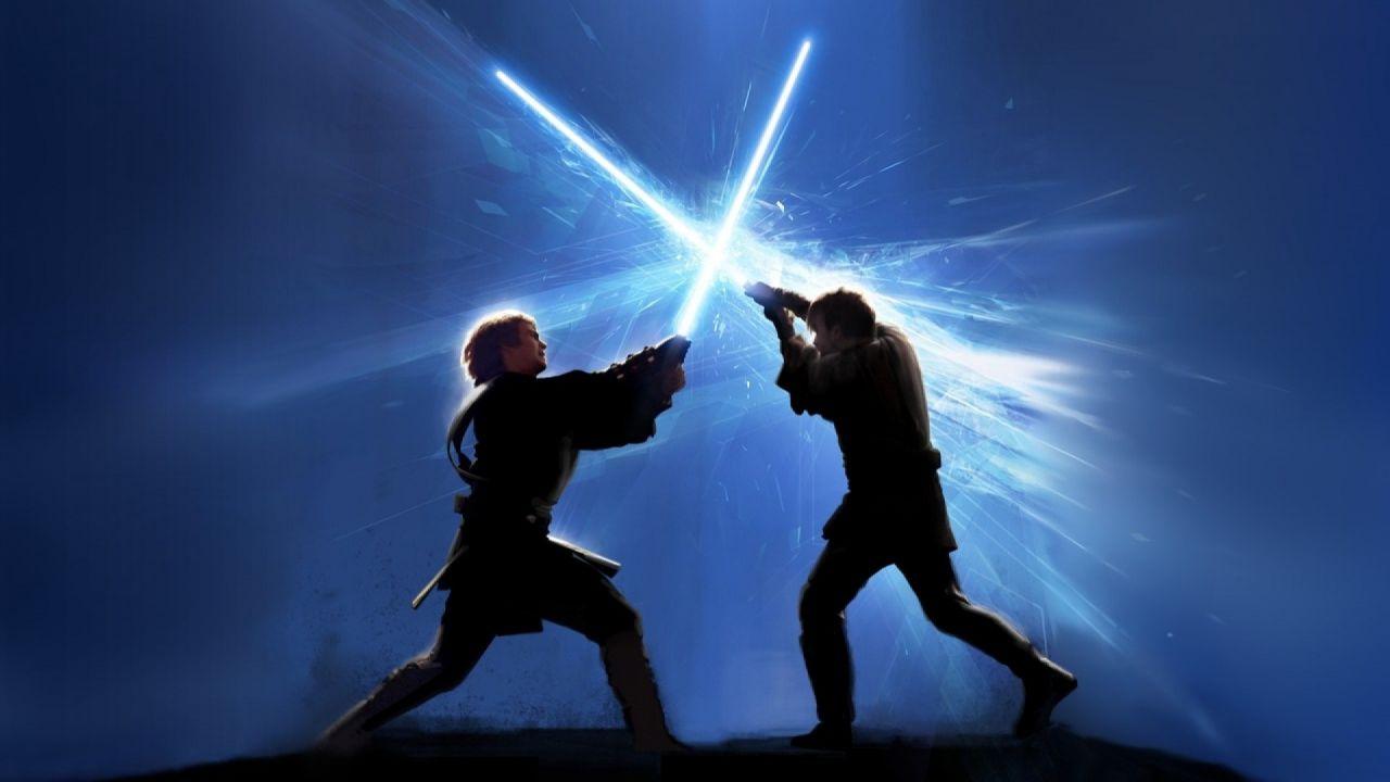 Obi Wan Kenobi contro Darth Vader
