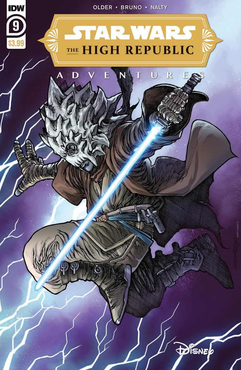 The High Republic Adventures copertina