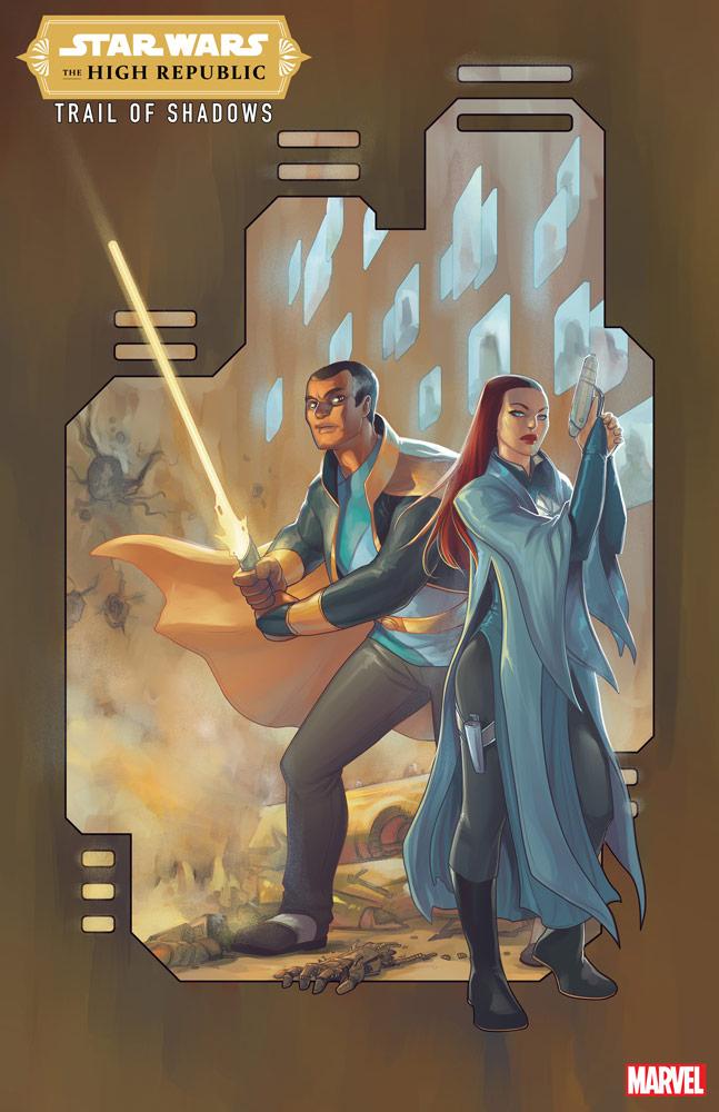 The High Republic Trail of Shadows variant cover di Meghan Hetrick