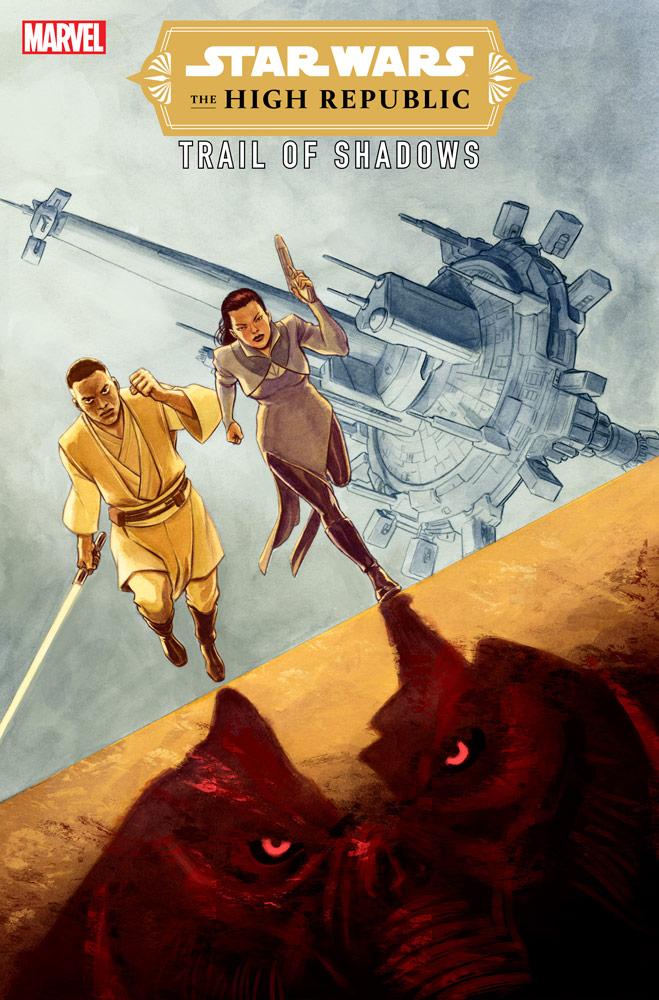 The High Republic Trail of Shadows variant cover di David Lòpez
