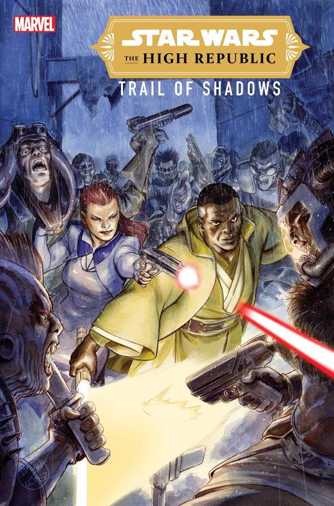 The High Republic Trail of Shadows copertina di David Lòpez